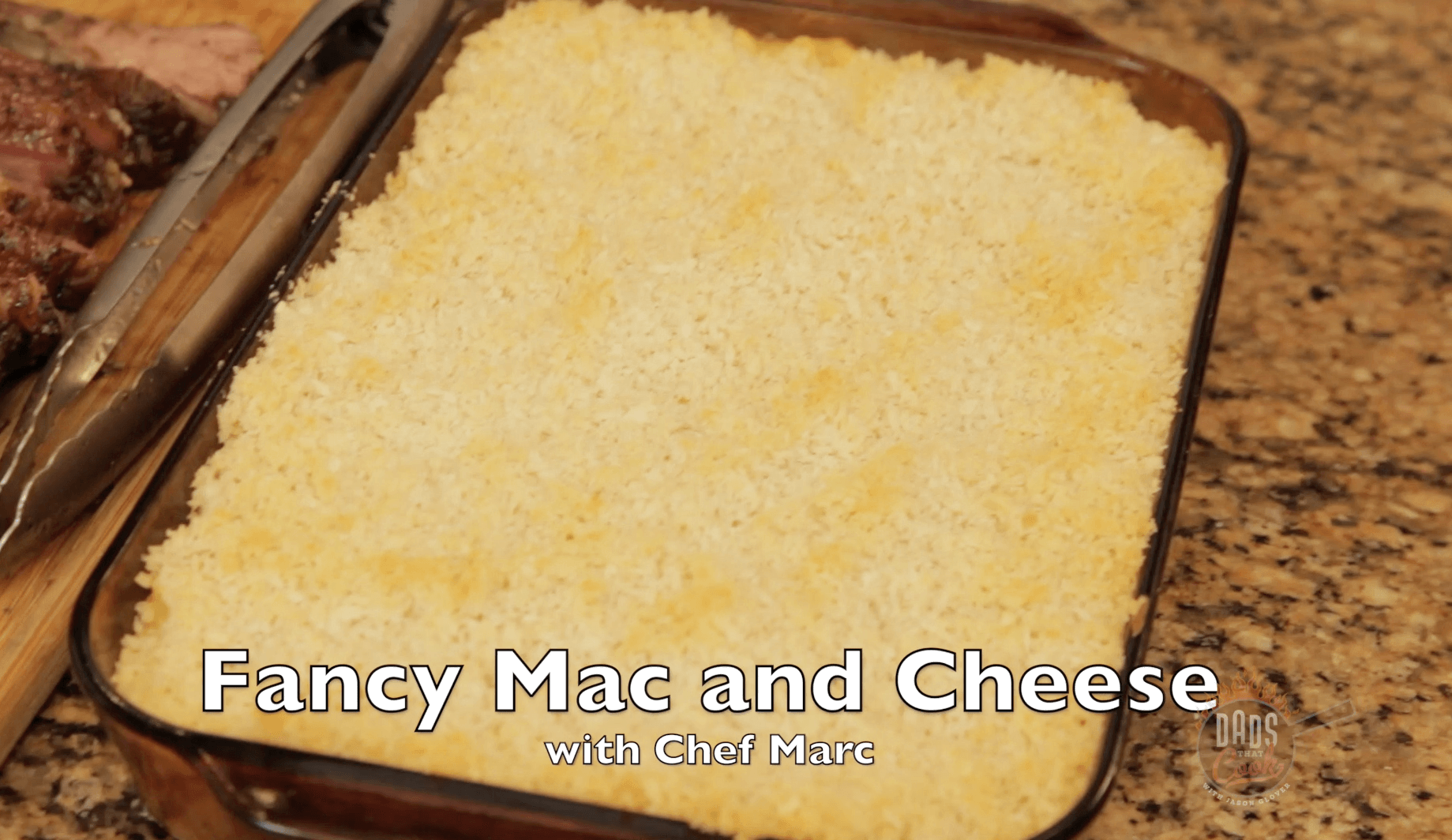 Fancy Mac N Cheese | Dads That Cook with Jason Glover