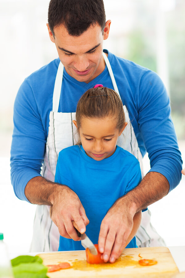 Cooking with Daddy Creates Bonds for Children