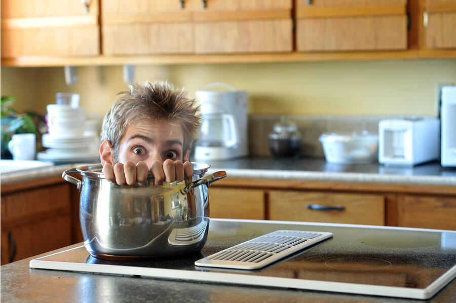 Fear: The Biggest Obstacle To Dad's Cooking