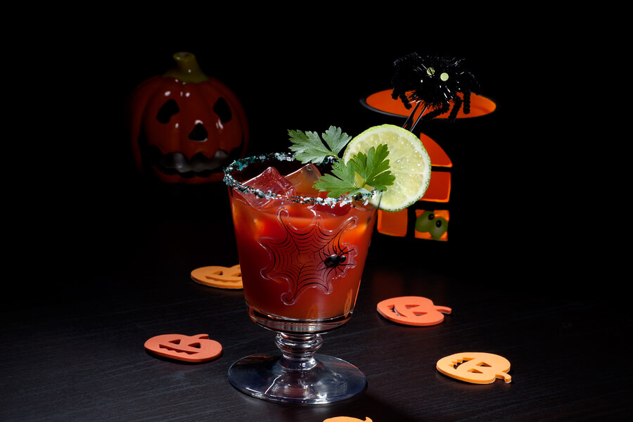 Man Cooking Up Some Awesome Halloween Cocktails