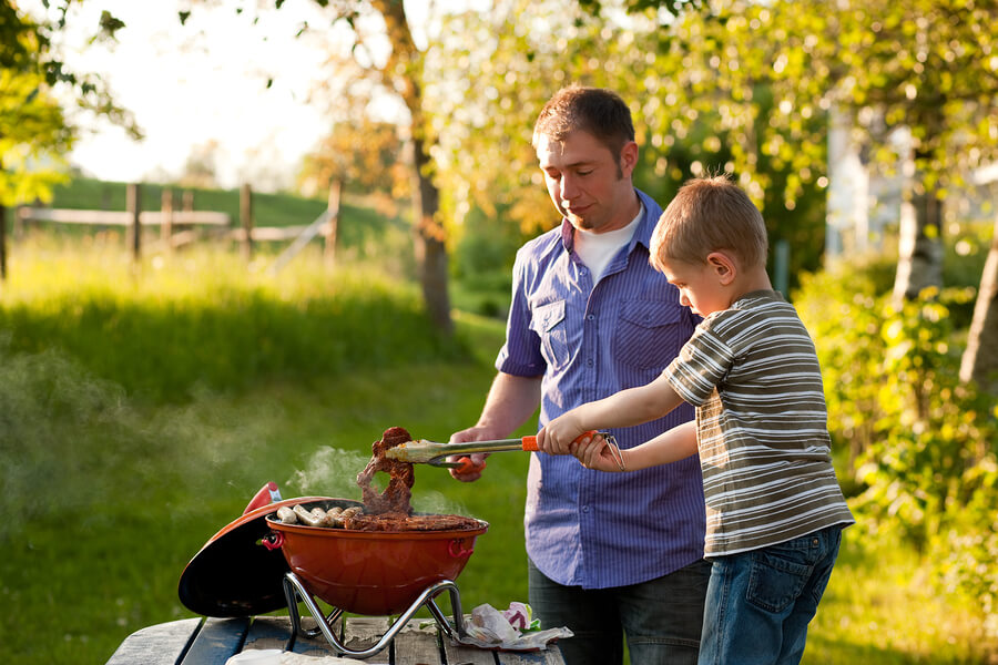 Get Your Kids to Cook Like a Dad on the Grill