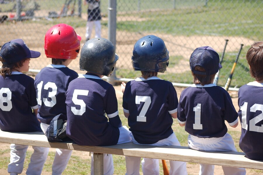 Kids Baseball Team Jpg