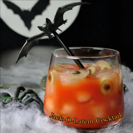 Dad Makes Haunting Halloween Cocktails