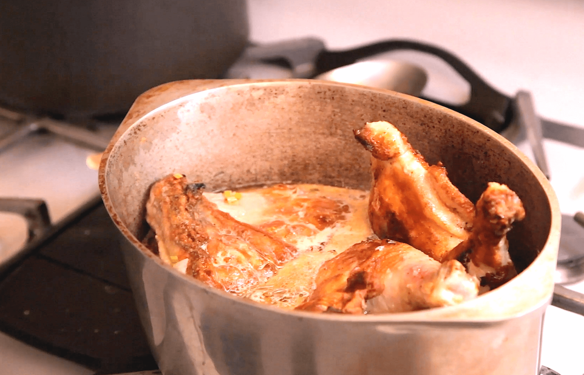 Belgian Beer Braised Chicken Legs