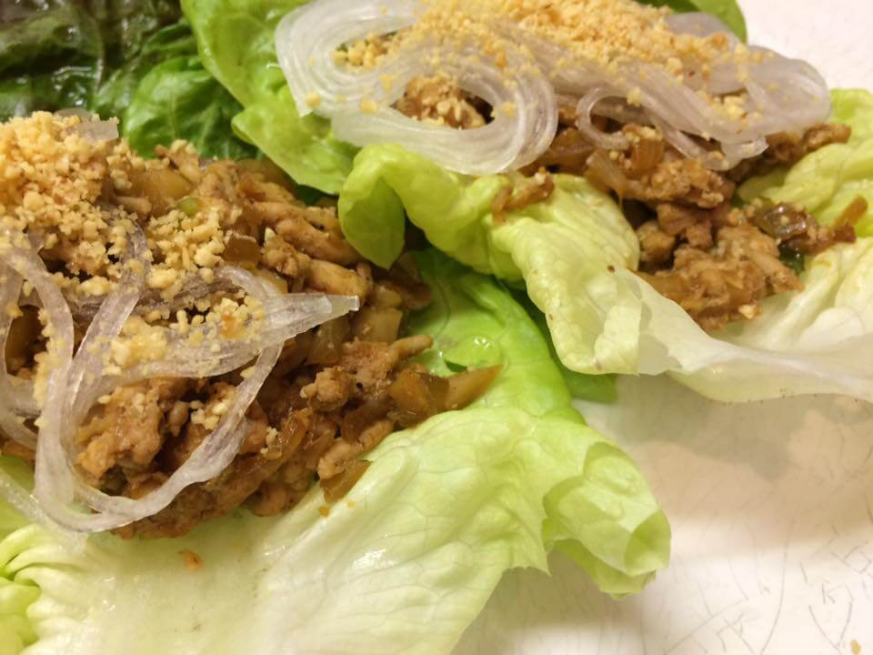 PF CHANG'S CHICKEN LETTUCE WRAPS (GF)