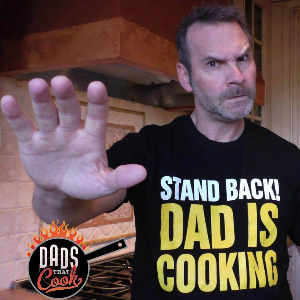 Stand Back Dad Is Cooking T-Shirt