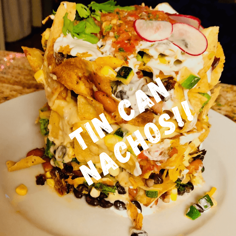 Recipe of the Week…TIN CAN NACHOS with Mix Master – Michael Perea