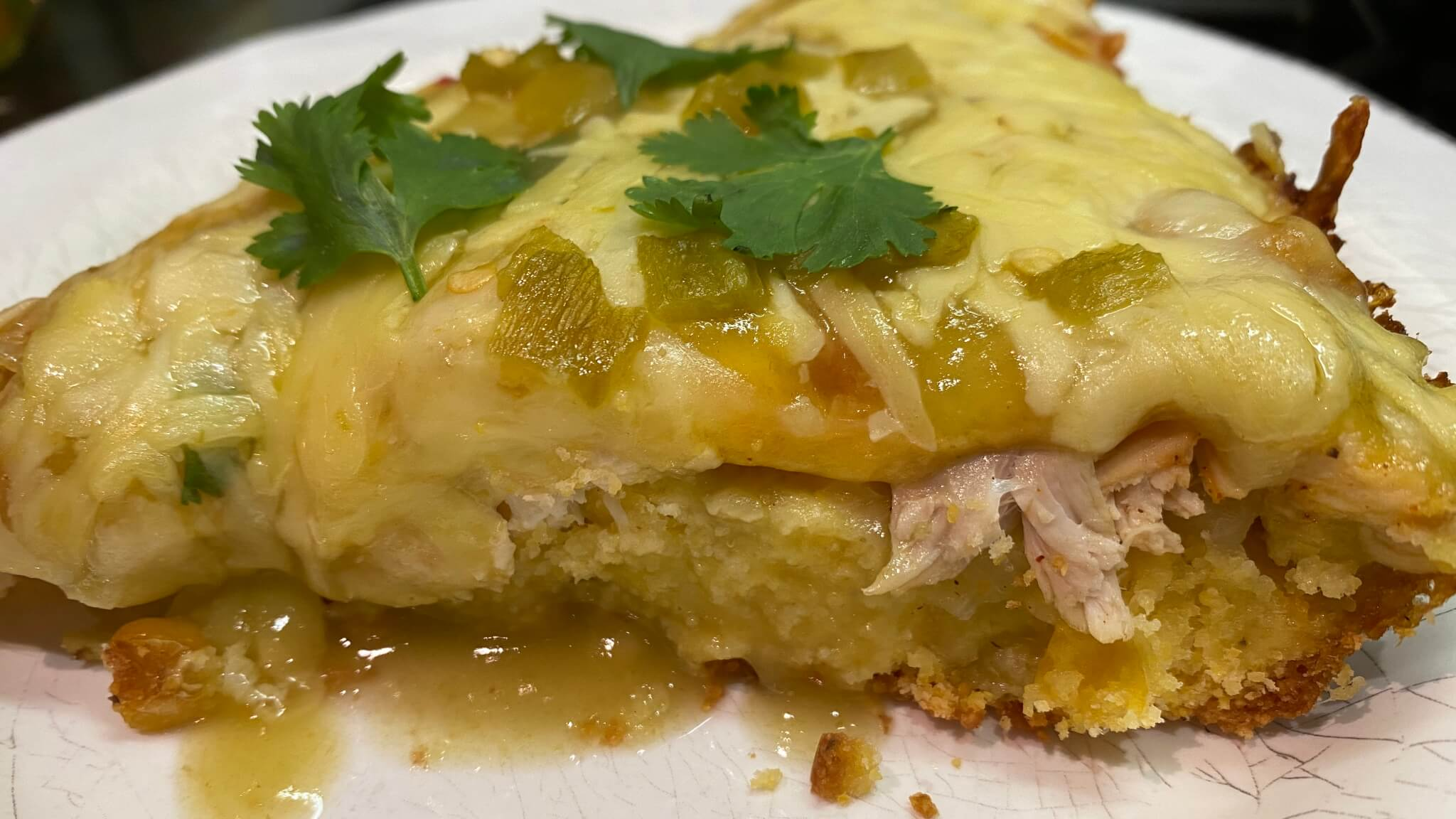 Roasted Chicken Tamale Pie
