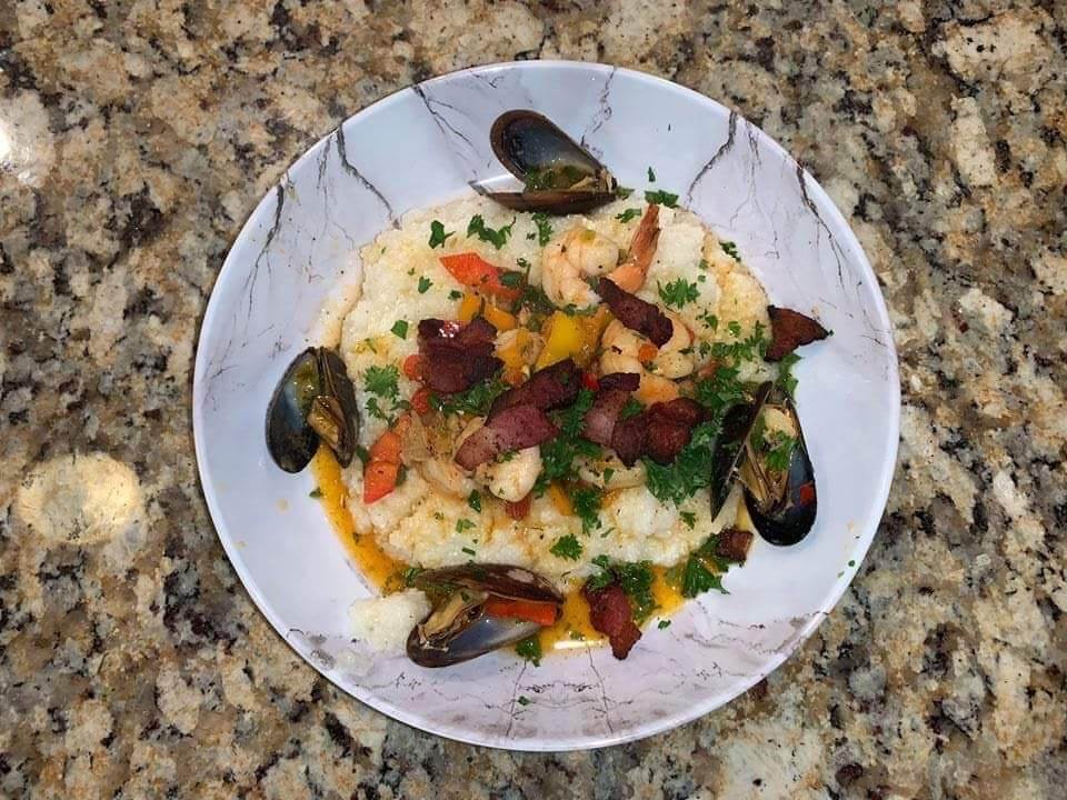 Seafood Shrimp and Grits
