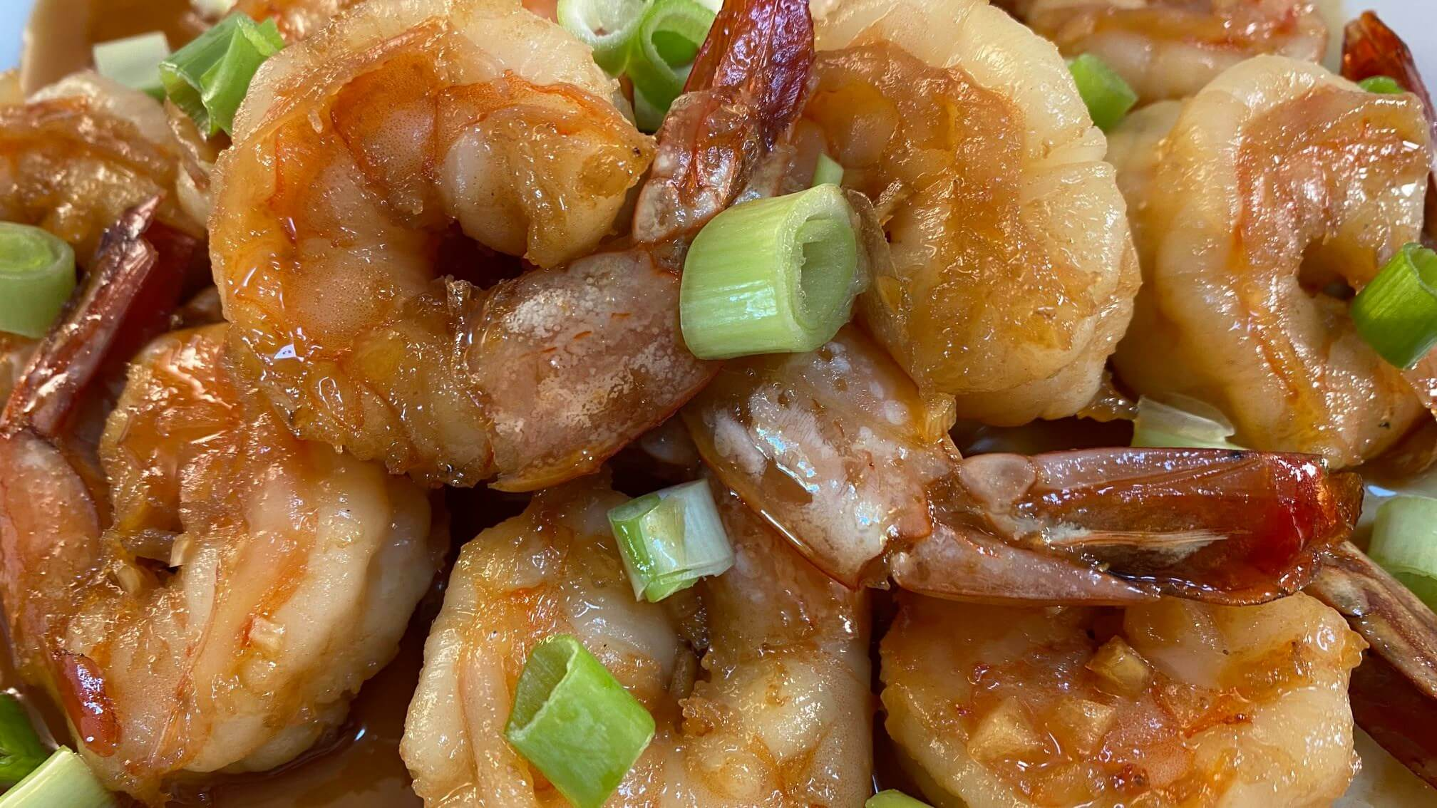 Sweet and Sticky Garlic Butter Shrimp