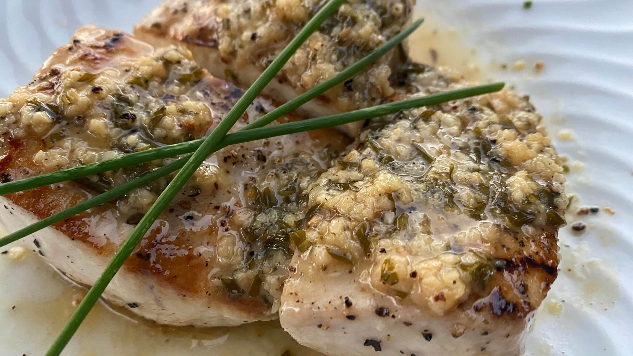 Mahi Mahi with Lemon Garlic Sauce