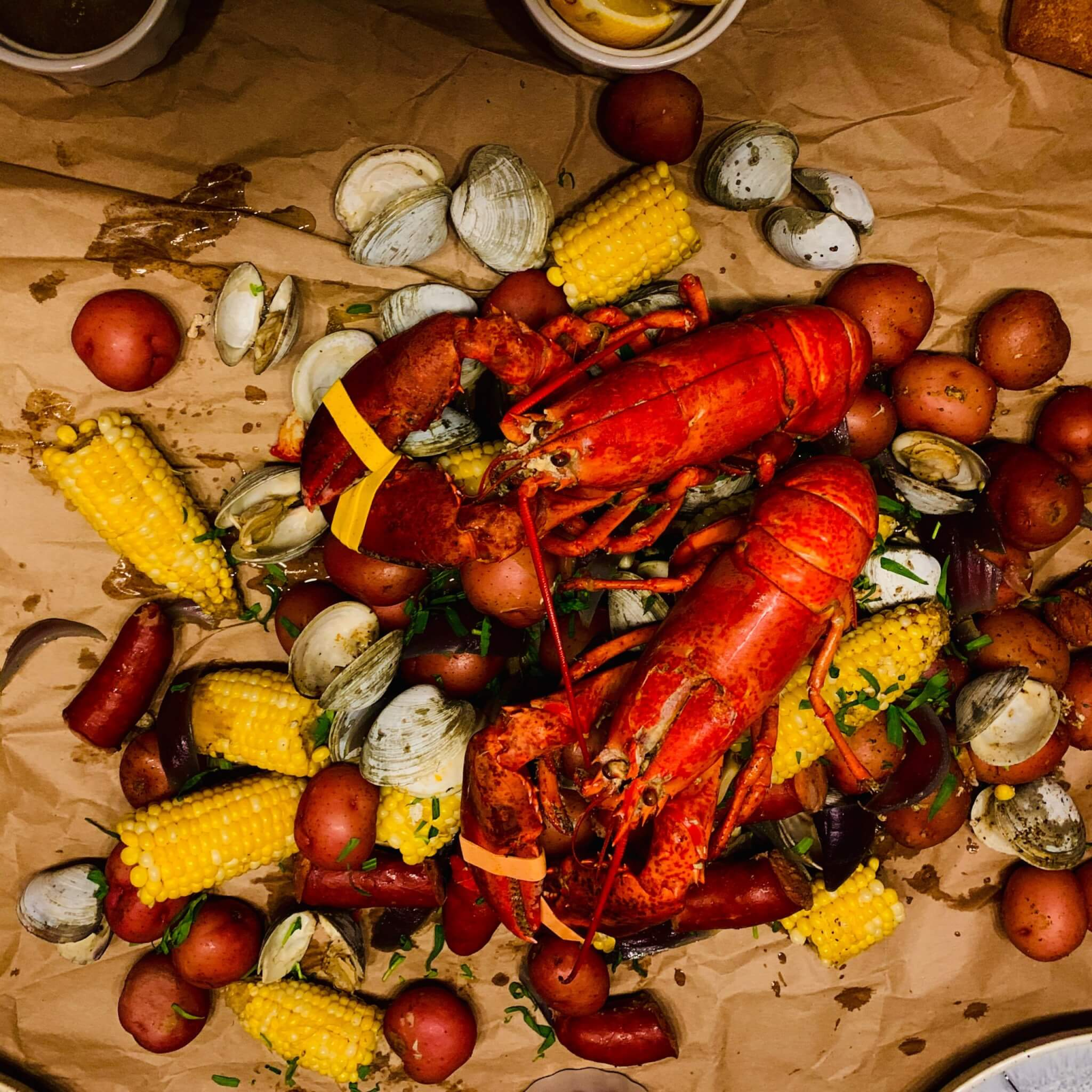 New England Lobster Boil