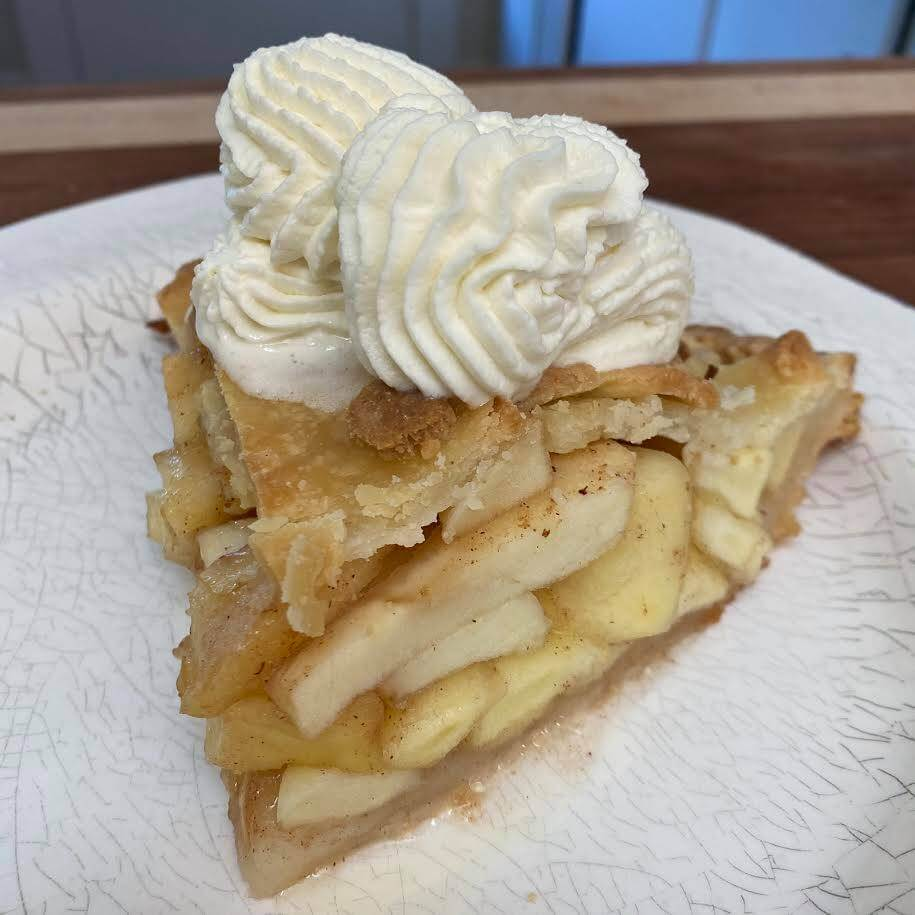 Smoked / Grilled Apple Pie