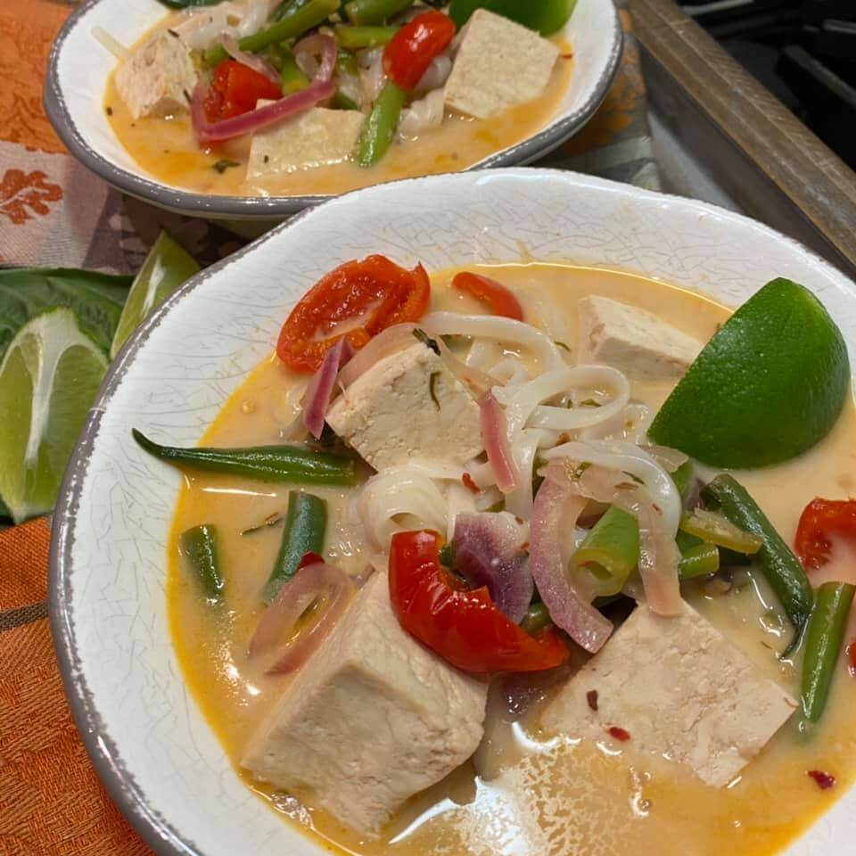 Healthy Coconut Curry